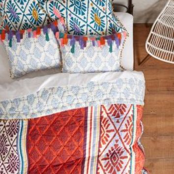 Barranco Quilt by Anthropologie Multi