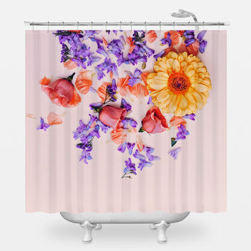 Pretty Potpourri Shower Curtain