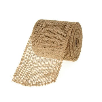 Natural Jute Roll High Quality, 4-inch, 10-yard
