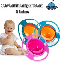 Baby Bowl Toddlers Baby Kids Lunch Box Non Spill Eat Food Snacks Bowl Children Christmas Gifts