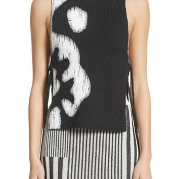 Altuzarra Painted Side Tie Tank Top | Nordstrom