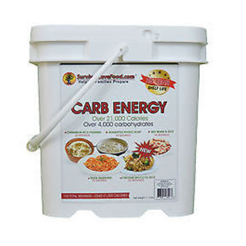 Survival Cave Foods Carb Energy- Emergency Freeze Dried Long Term Food Supply