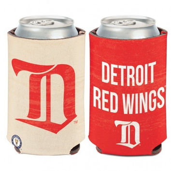 NHL Detroit Red Wings Vintage Can Cooler