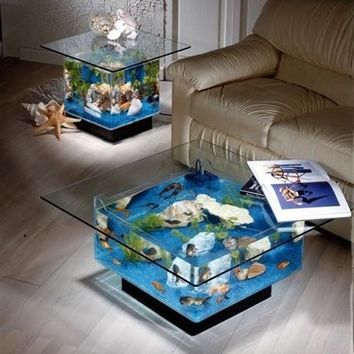 Coffee Table Aquarium - Opulentitems.com