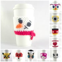 Choose Your Style, GRUMPY CAT / travel mug / coffee mug cozy / travel cup sleeve / cup cozy  / coffee cup sleeve, tea cups, coffee cups
