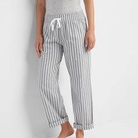Print roll-tab sleep pants | Gap