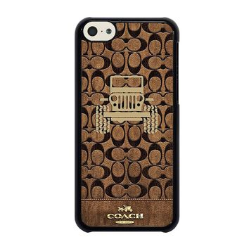 COACH NEW YORK JEEP iPhone 5C Case