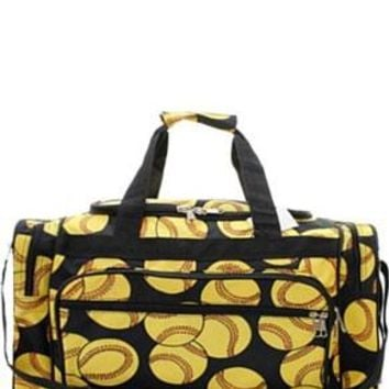 "23"" Softball Print Duffel"