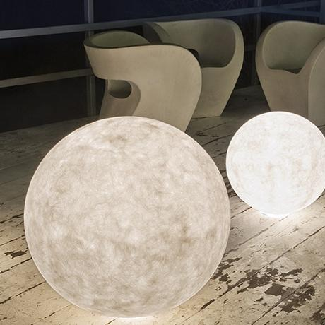 Outdoor luna lamp o 120cm from monoqi queen of hearts for O moon outdoor floor lamp