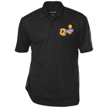 Draymond Green Quickie ST695 Sport-Tek Performance Textured Three-Button Polo