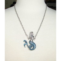 Sourpuss Clothing | Out to Sea Mermaid Necklace