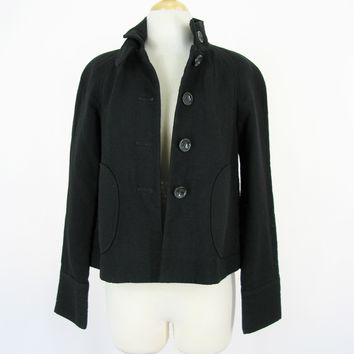 Banana Republic Shorty Swing Wool Peacoat XS