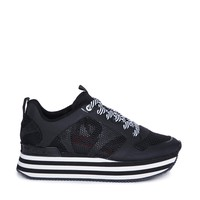 DKNY ACTIVE Jessica Mesh Flatform Trainers
