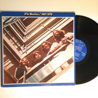 OCTOBER SALE The Beatles 1967 to 1970 LP Album Records The Long And Winding Road Across The Universe Reissue Vinyl