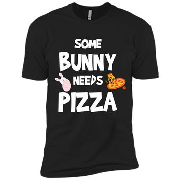 Cute Gift Ideas For Easter. Costume For Pizza Lover. Next Level Premium Short Sleeve Tee