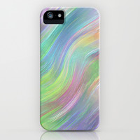 COLOUR WAVE iPhone & iPod Case by catspaws