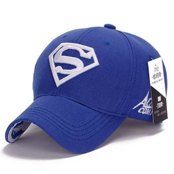 NEW Brand SUPERMAN Polo Snapback Mens Baseball Caps Women Fitted Adjustable Hat Gorras Planas Casquette Chapeau Homme
