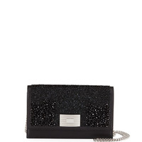 Ralph Lauren Beaded Leather Wallet on Chain