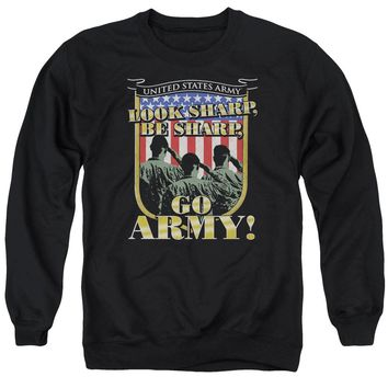 Army - Go Army Adult Crewneck Sweatshirt