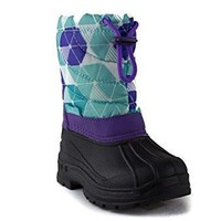 Toddler Girls Zula BHD-02I Pull On Fleece Lined Winter Snow Boots