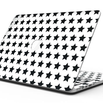 Slate Black All Over Star Pattern - MacBook Pro with Retina Display Full-Coverage Skin Kit