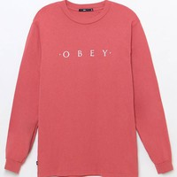 OBEY Novel Long Sleeve T-Shirt at PacSun.com