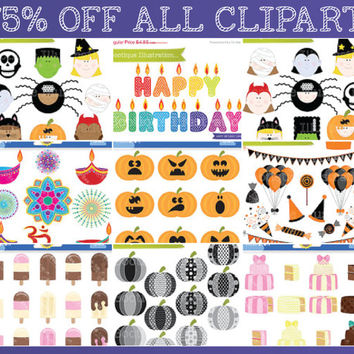 75% OFF ALL Clipart and Digital Scrapbooking Supplies. Sale Clipart. Reduced Clipart. Limited Time Offer.