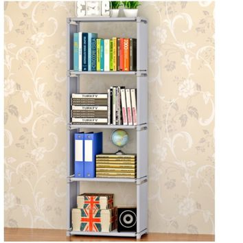 DIY 4 Grid Storage Cube Closet Bookcase Storage Bookshelf