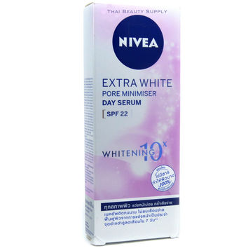 Nivea Extra White Pore Minimizer Day Serum SPF 22 Anti Spot Skin Whitening