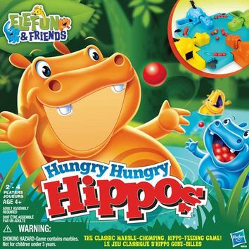 ELEFUN & FRIENDS Hungry Hungry Hippos Game | Walmart Canada