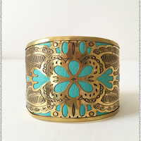 Leather Cutout Cuff