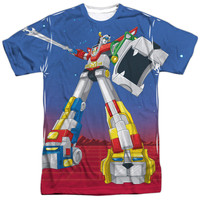 VOLTRON/FORM VOLTRON-S/S ADULT POLY CREW-WHITE