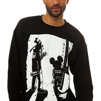 Another Enemy Outsiders Crewneck in Black