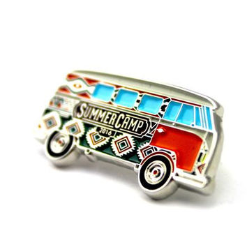 The Official 2016 Summer Camp 'Scamper Van' Pin