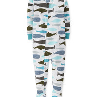 Carter's Baby Boys' Whale Coverall