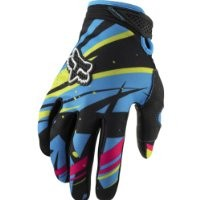 Fox Racing Dirtpaw Undertow Youth Boys Motocross/Off-Road/Dirt Bike Motorcycle Gloves - Blue/Green / Small