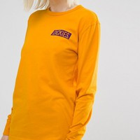 Dickies Oversized Long Sleeve T-Shirt With Box Back Print at asos.com