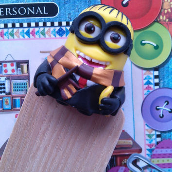 Bookmark minion Harry Potter. Gift for children