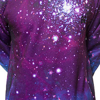 The Stargazer Crewneck Sweatshirt in Galaxy