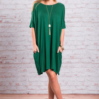 Dare To Dream Dress, Forest Green
