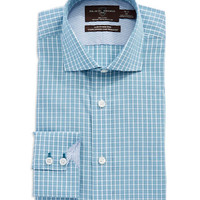 Black Brown 1826 Cotton Slim Fit Dress Shirt