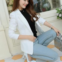 Women Long Sleeve Blazer Suit
