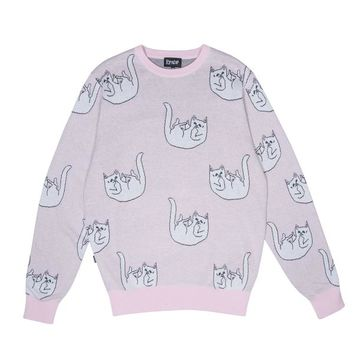 Falling For Nermal Knit Sweater (Pink) | RIPNDIP