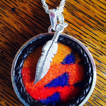 Wool Pecos Necklace