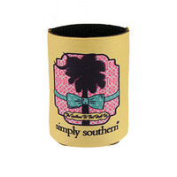 Simply Southern Yellow Palm Koozie