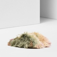 Maison Margiela Faux Fur Slippers Women |