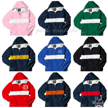 Monogrammed Hooded Pullover / Monogrammed Jacket / Cheer Jacket / Sports Hoodie