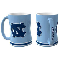 North Carolina Tar Heels NCAA Coffee Mug - 15oz Sculpted (Single Mug)