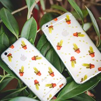 Clear | Cactus iPhone Case