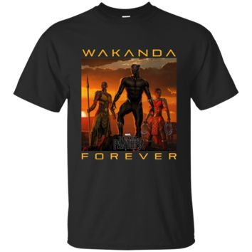 Marvel Black Panther Movie Wakanda Forever Premium T-Shirt